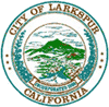 Official seal of Larkspur, California