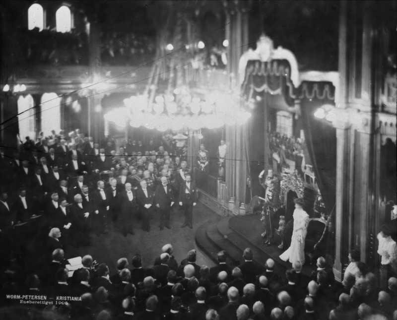 Severin Worm-Petersen Haakon VIIs edsavleggelse i 1905 OB.A5031.jpg