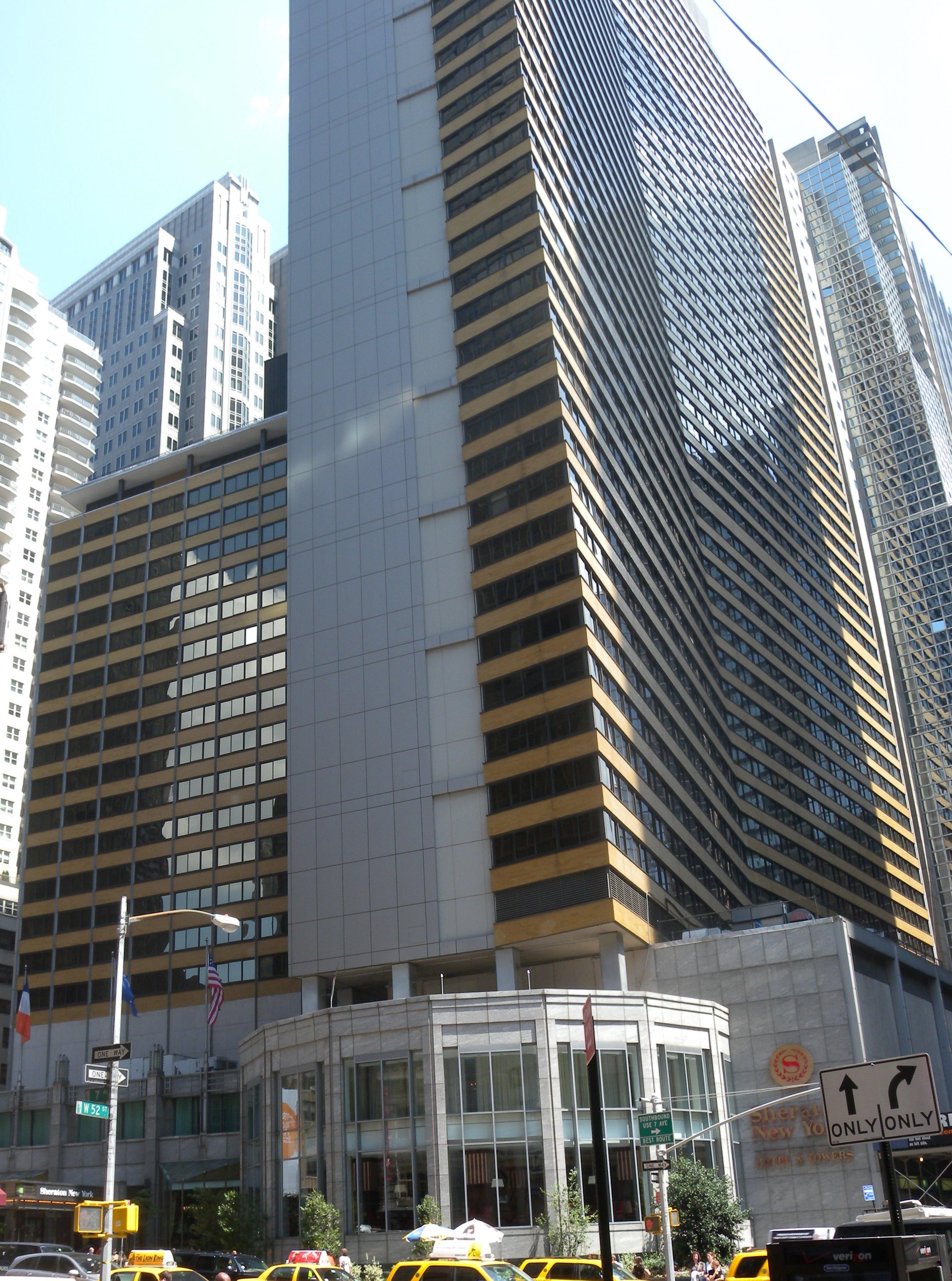 Westin Hotel Times Square Restaurant