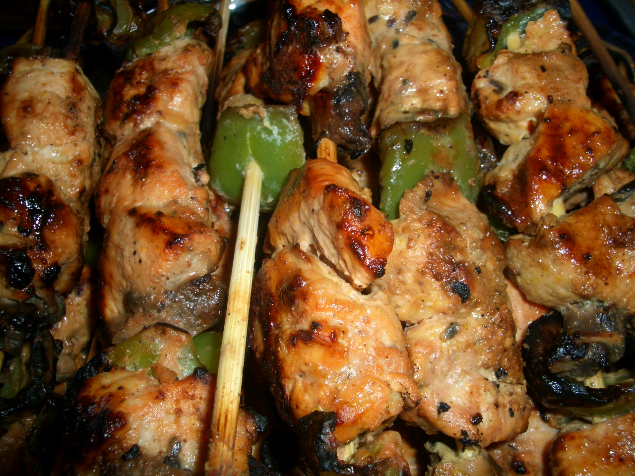 Egyptian food, shish tawook