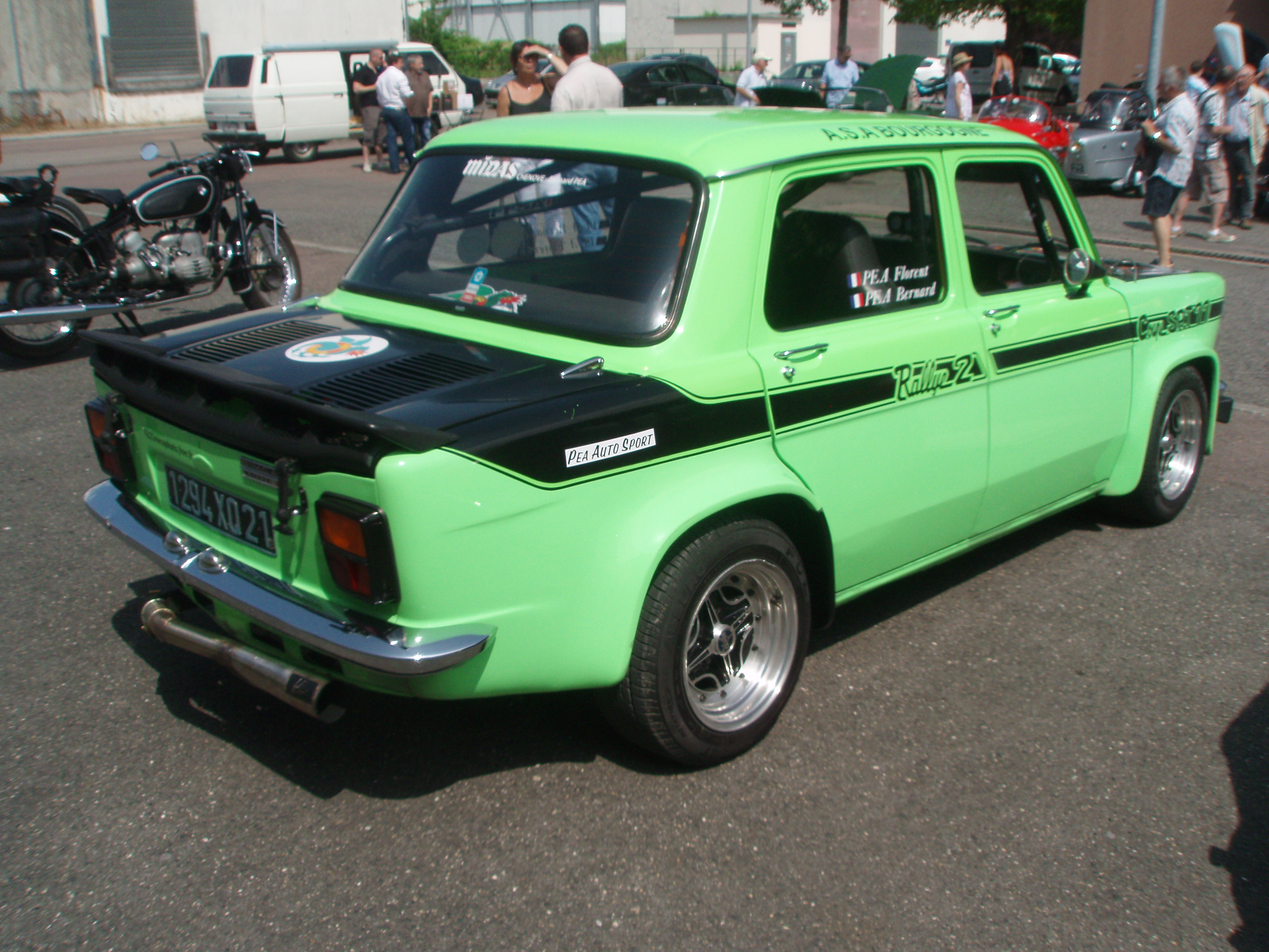 File Simca 1000 Rallye 2 Coupe Srt 77 Front Right 1 04