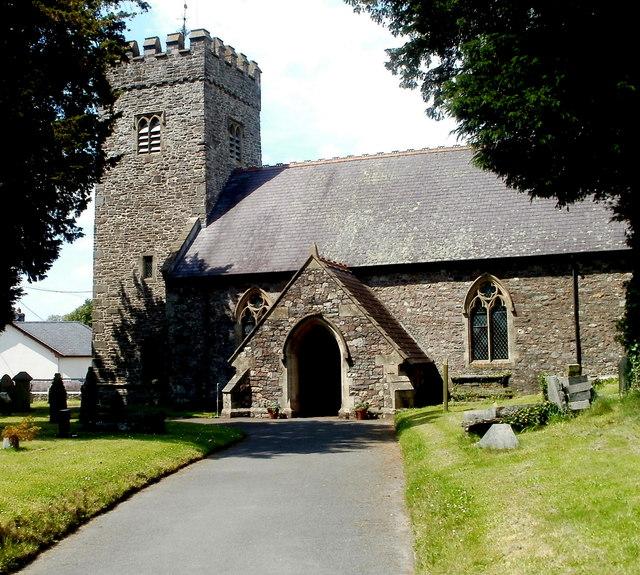 File:South side of St Cadog Parish Church, Llangadog - geograph.org.uk - 3331830.jpg