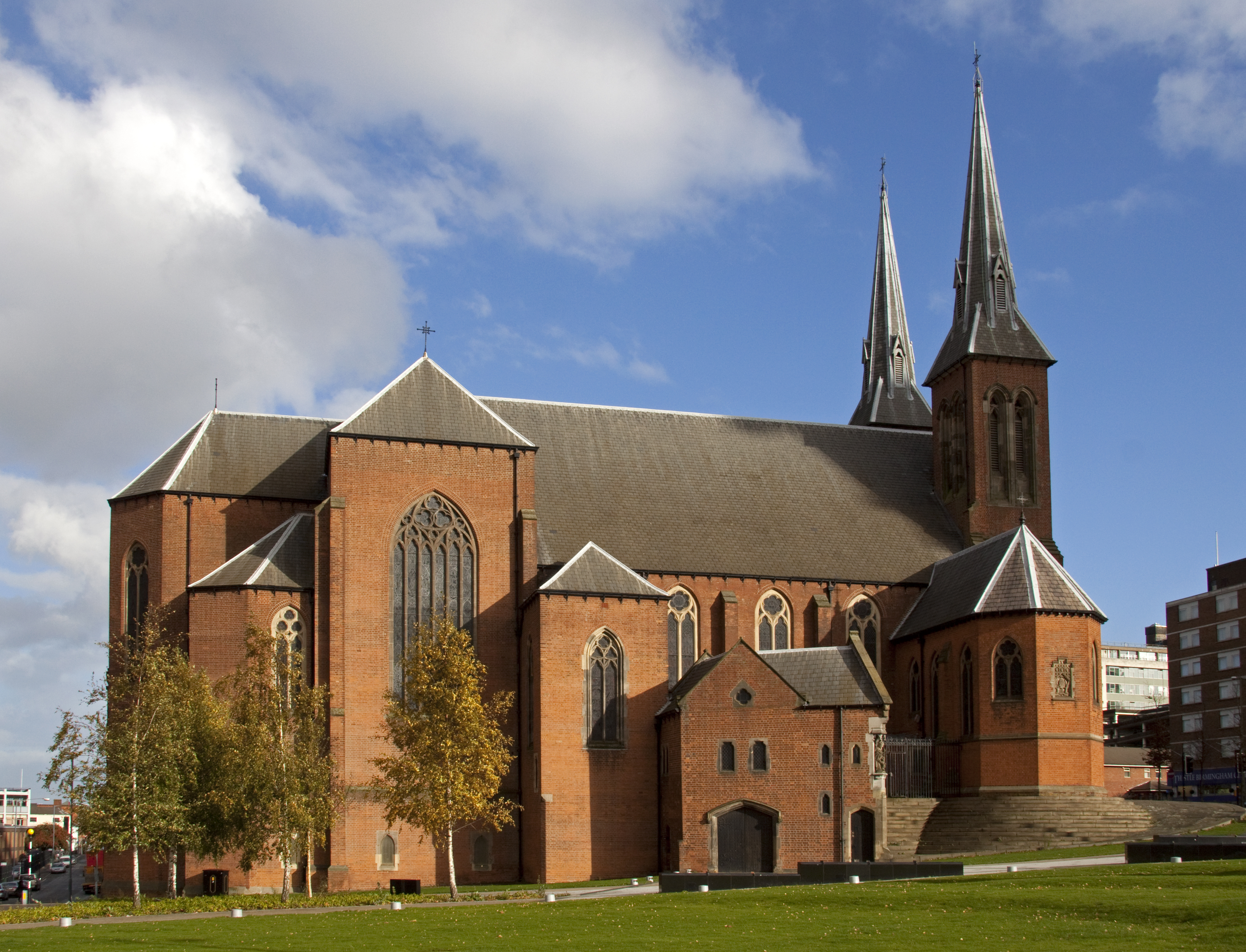St Chad S Cathedral Birmingham Wikiwand