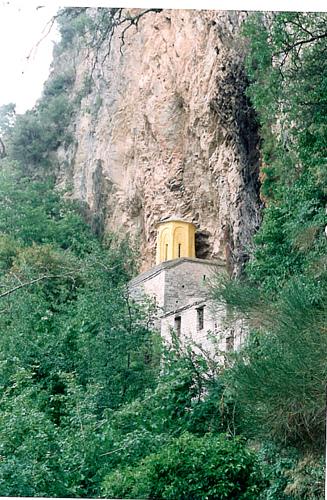 Stanas Monastery,Epiniana, Evritania