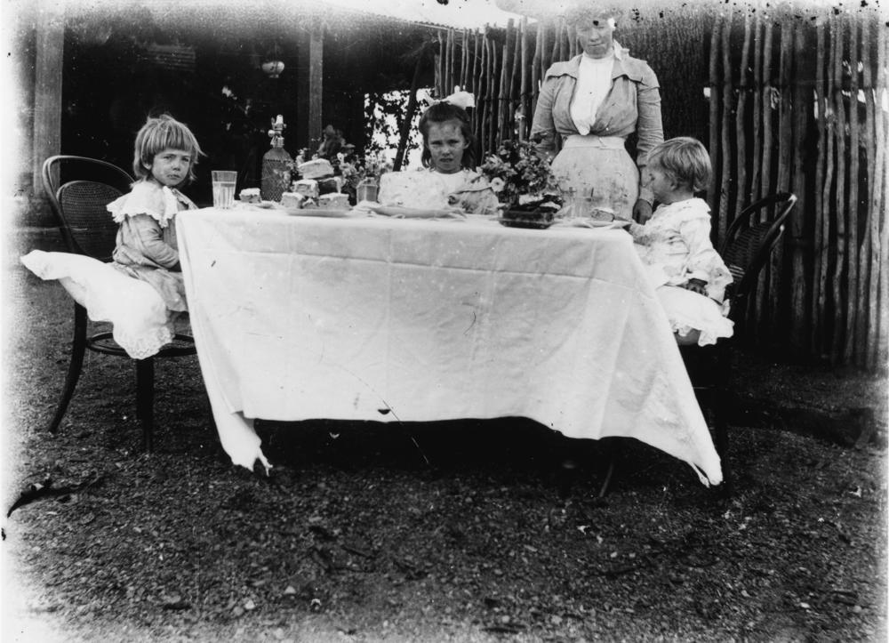 File Statelibqld 1 167479 Children S Afternoon Tea Party