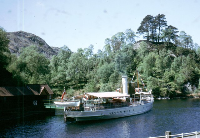 at the Trossachs Pier