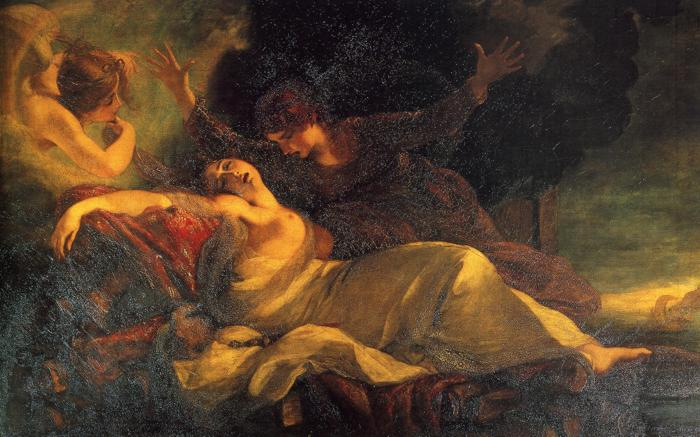 The Death of Dido (1781); Joshua Reynolds