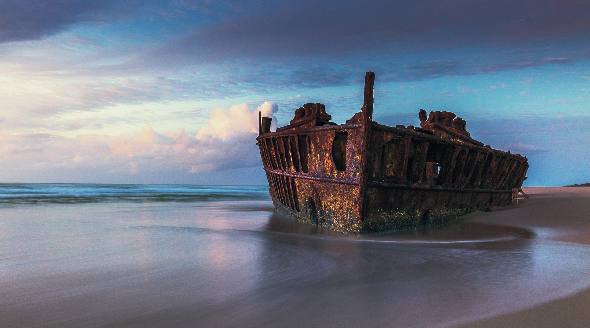 Shipwreck, one of the things to do in Fraser Island