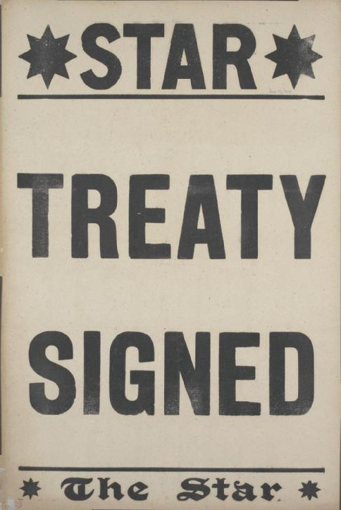 File:The Star placard Versailles Treaty signed.jpg - Wikimedia Commons