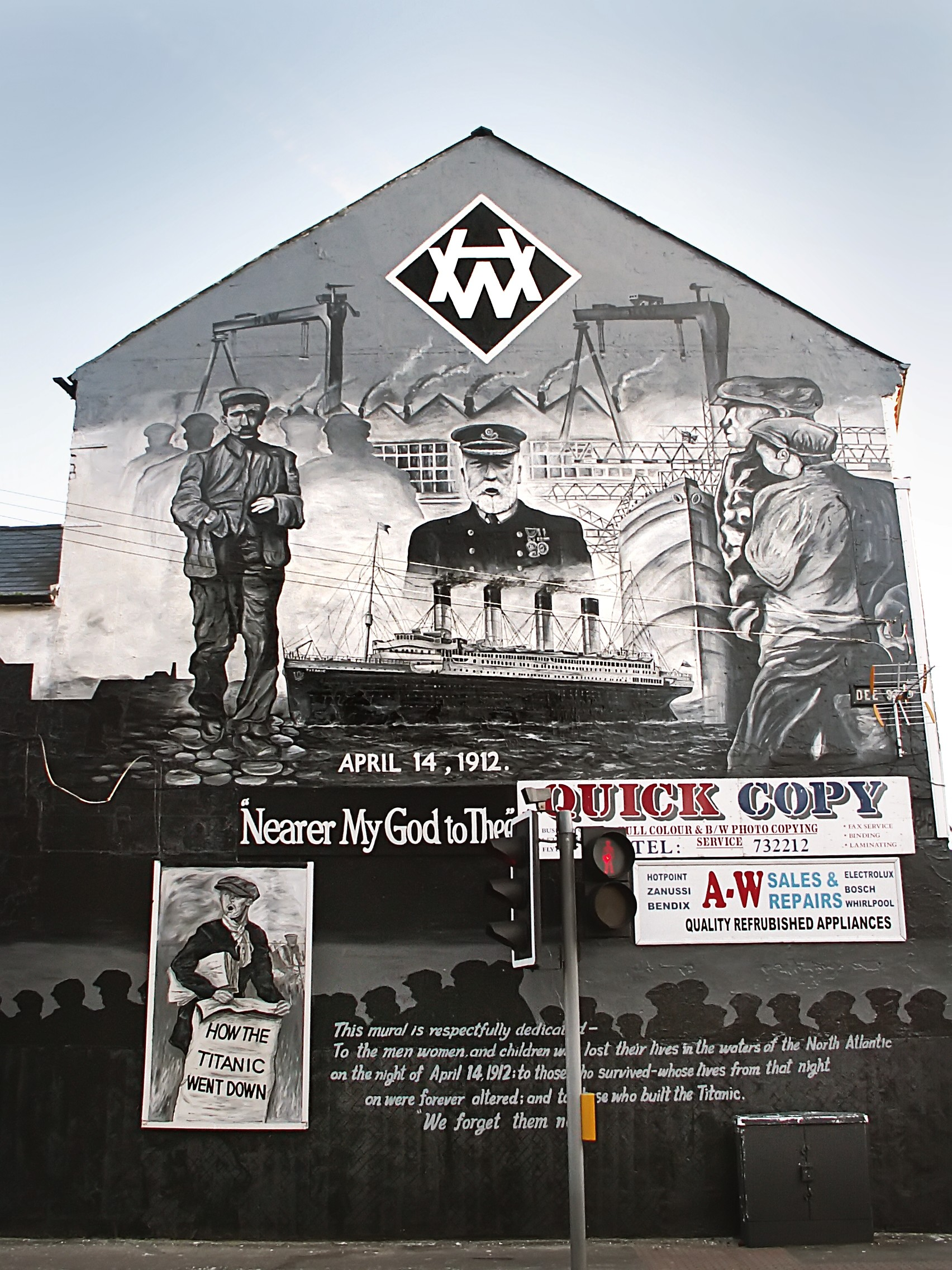 File titanic mural for Mural belfast