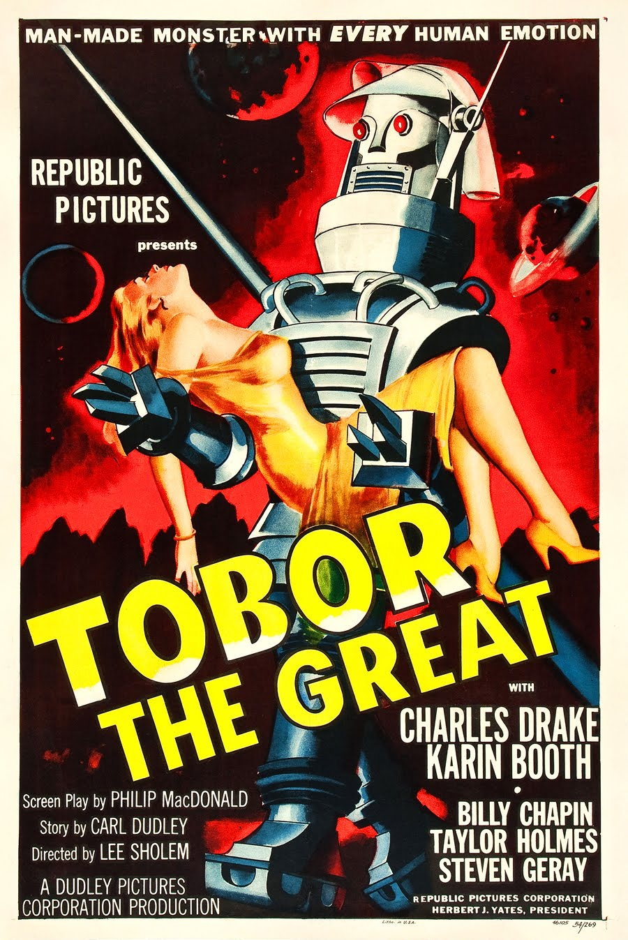 Image result for tobor the great movie poster