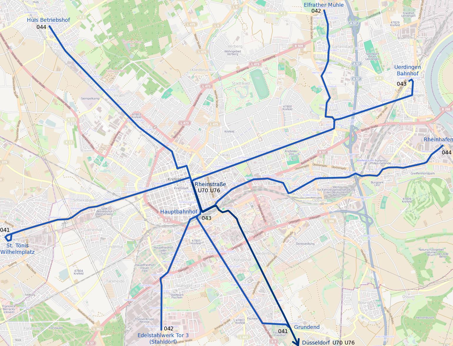 FileTram map of Krefeldpng Wikimedia Commons