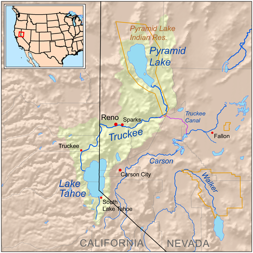 Truckee River Wikipedia