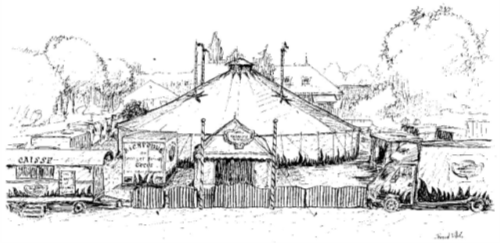 File un dessin du cirque wikimedia commons - Dessin d un chapiteau de cirque ...