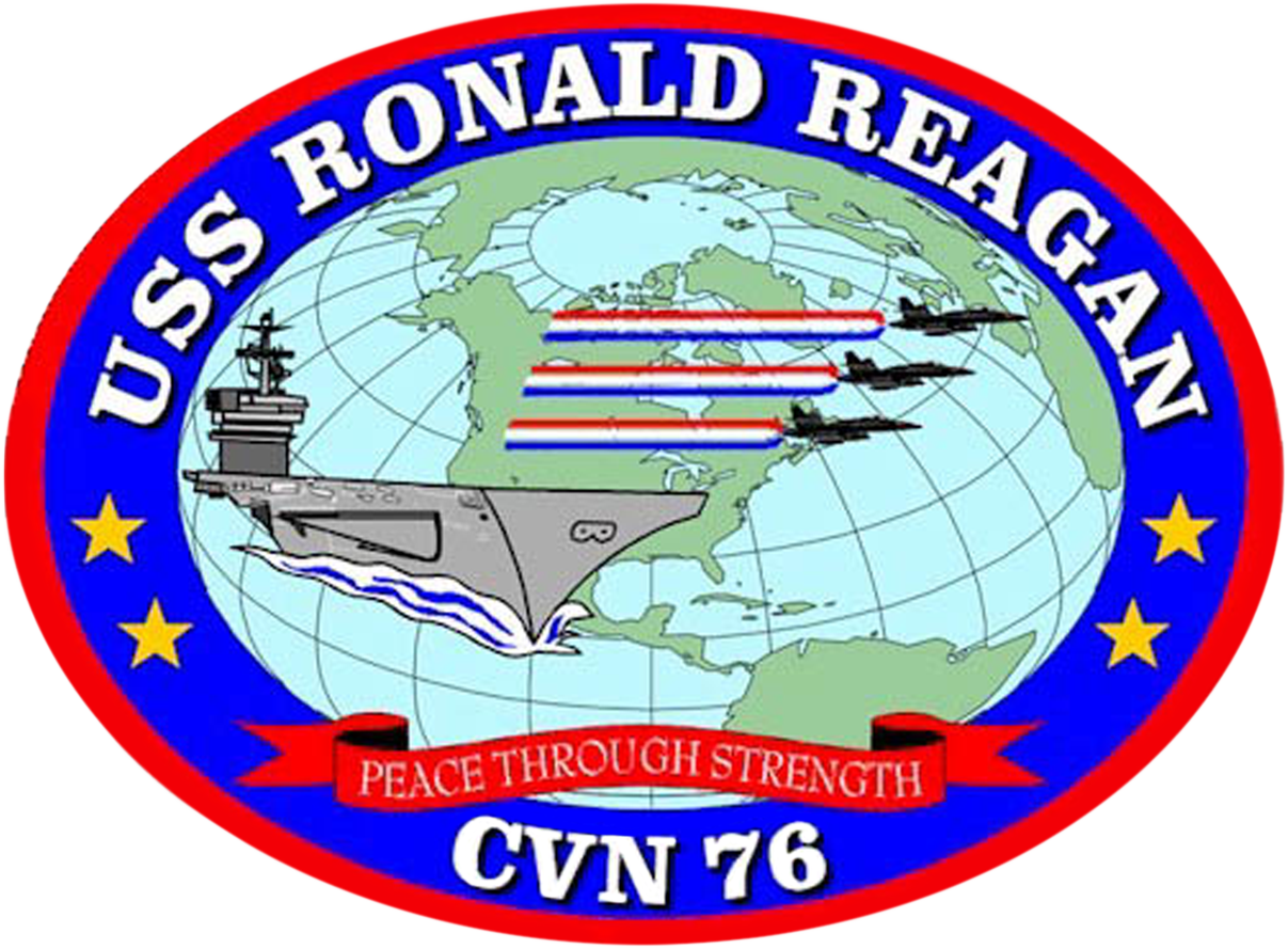 English: Emblem of the USS Ronald Reagan CVN-76