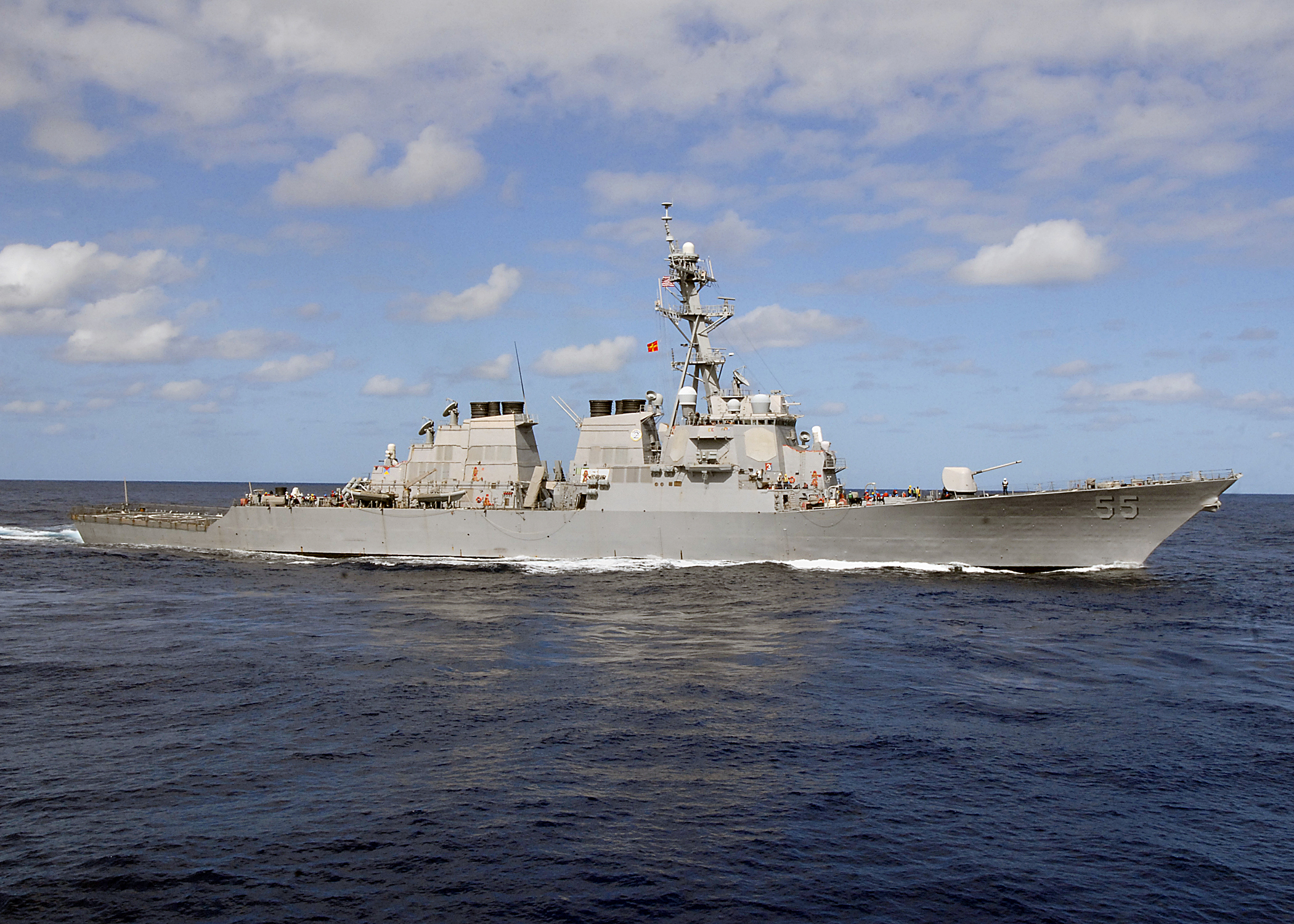 USS Stout breaks Navy record for longest stint at sea, 208 days
