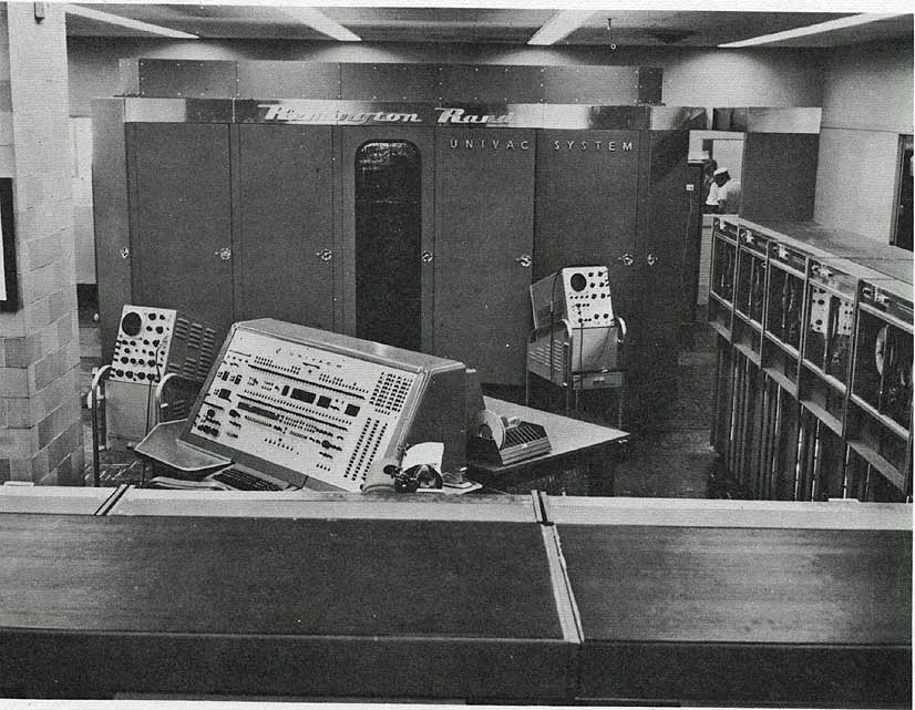 Univac Computer UNIVAC - Wikipe...