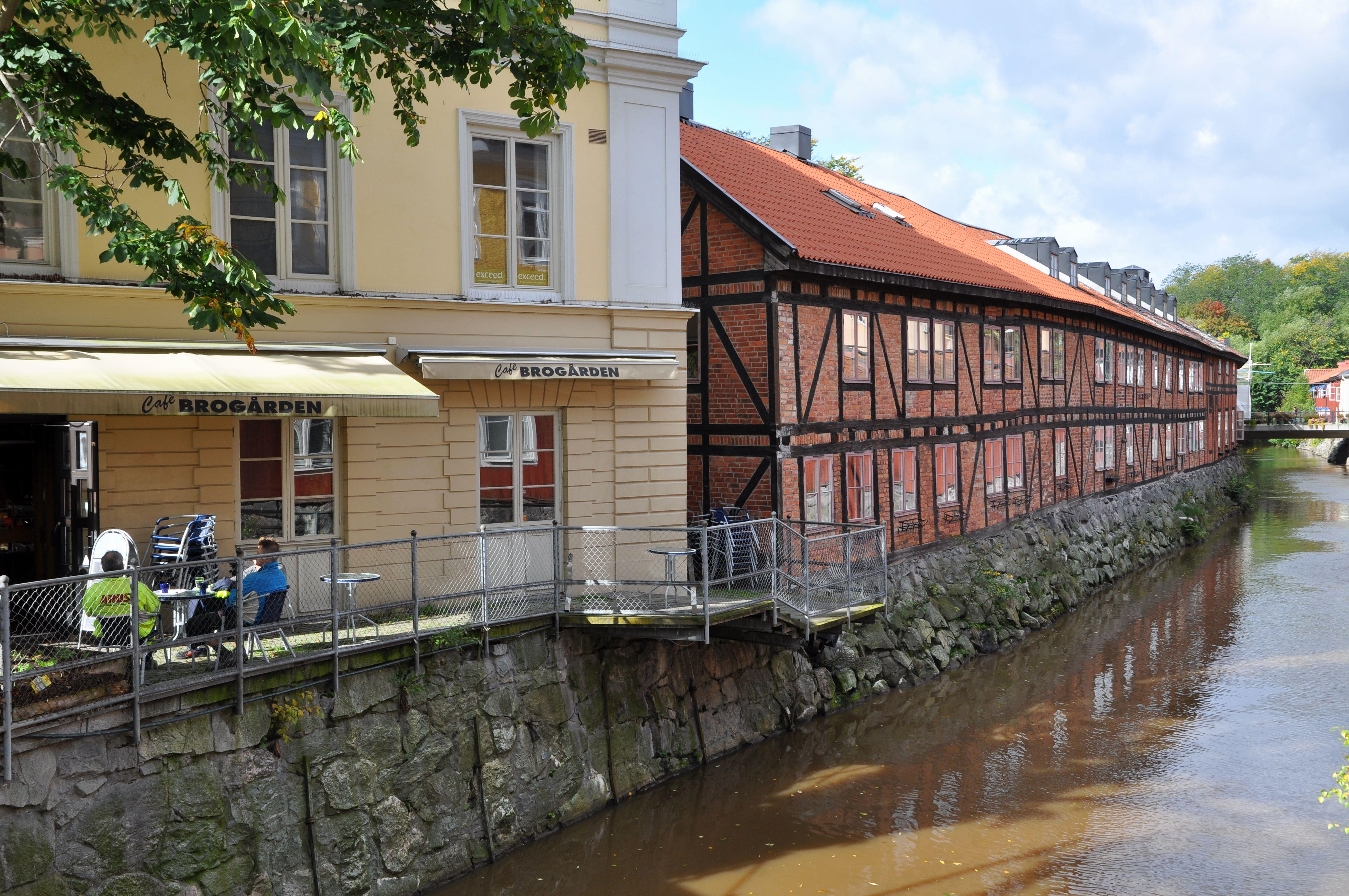Filevästerås Korsvirkeshuset Mot Svartån10jpg Wikimedia Commons