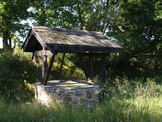 Well and pump, Whiteleigh - geograph.org.uk - 513540