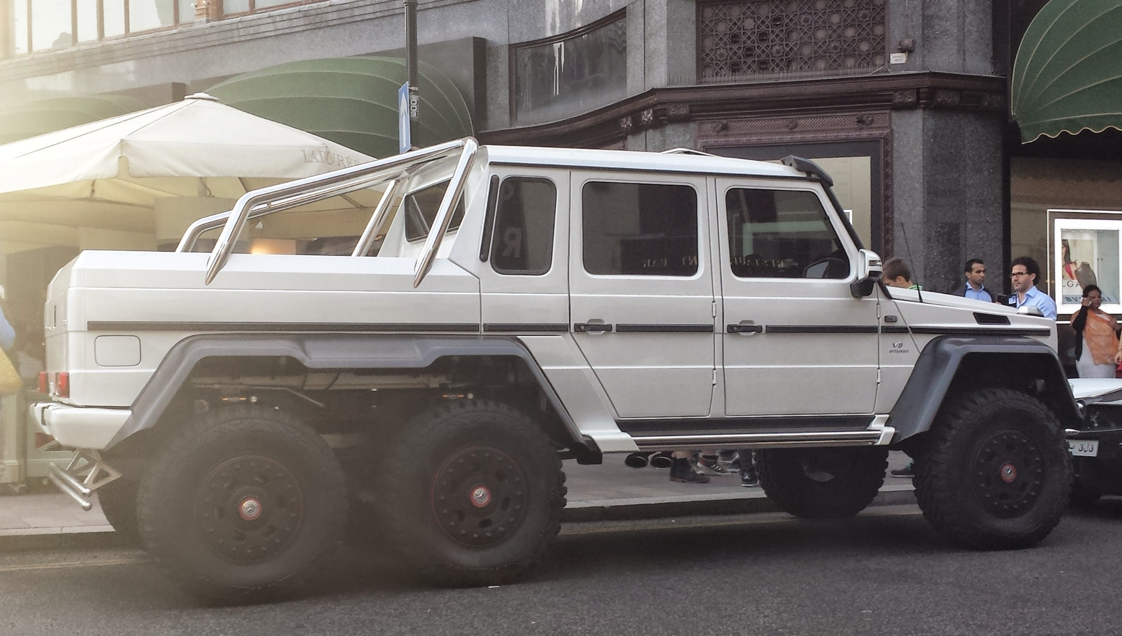 File White Mercedes Benz G 63 Amg 6x6 Rr London14 Jpg Wikimedia Commons