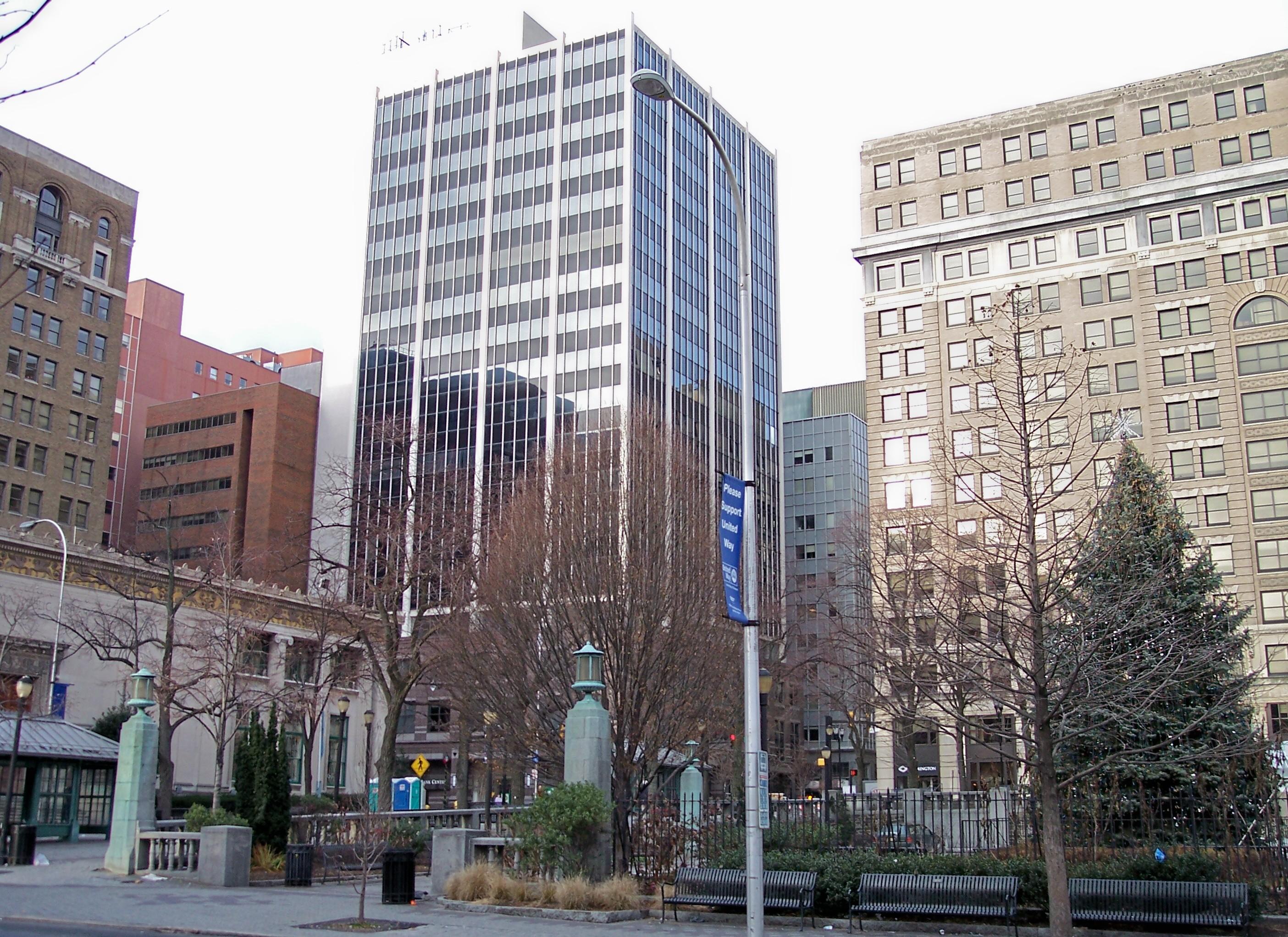 Bank Of America Financial Center Union City Nj