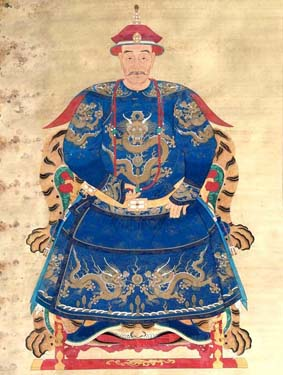 Ming and Qing dynasty general Wu Sangui