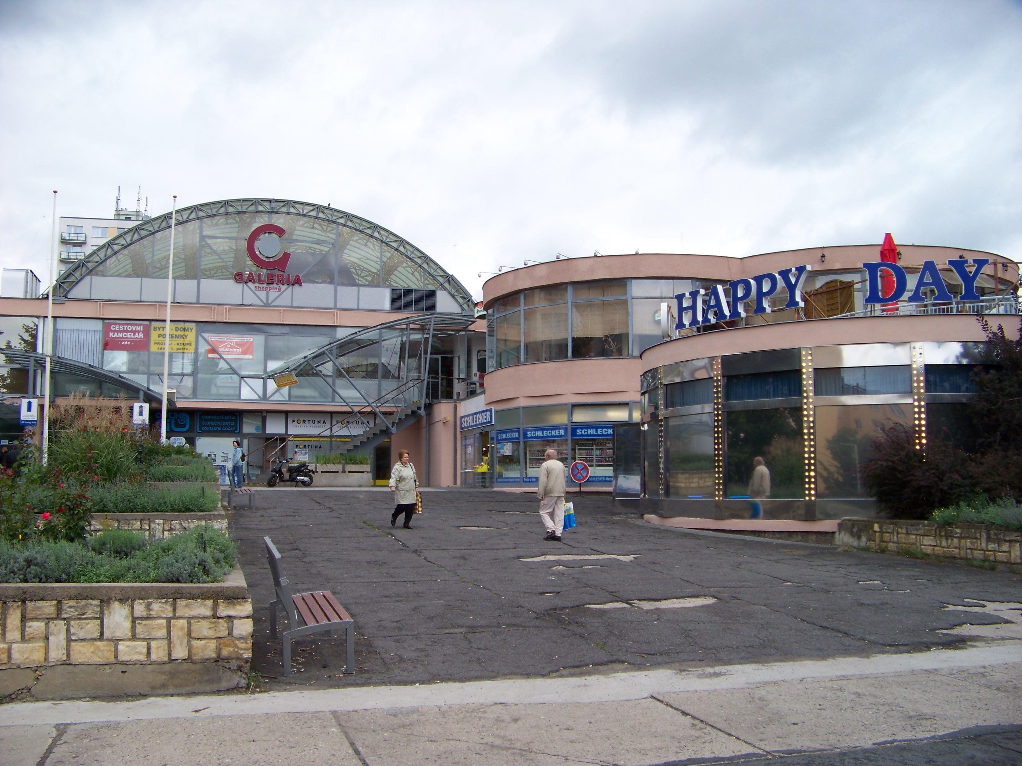 Čtvercové nákupní centrum obchodu s háčky