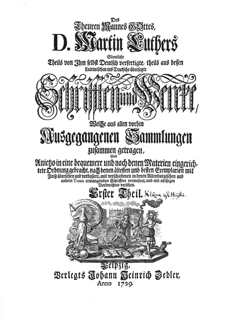 Luther Schriften