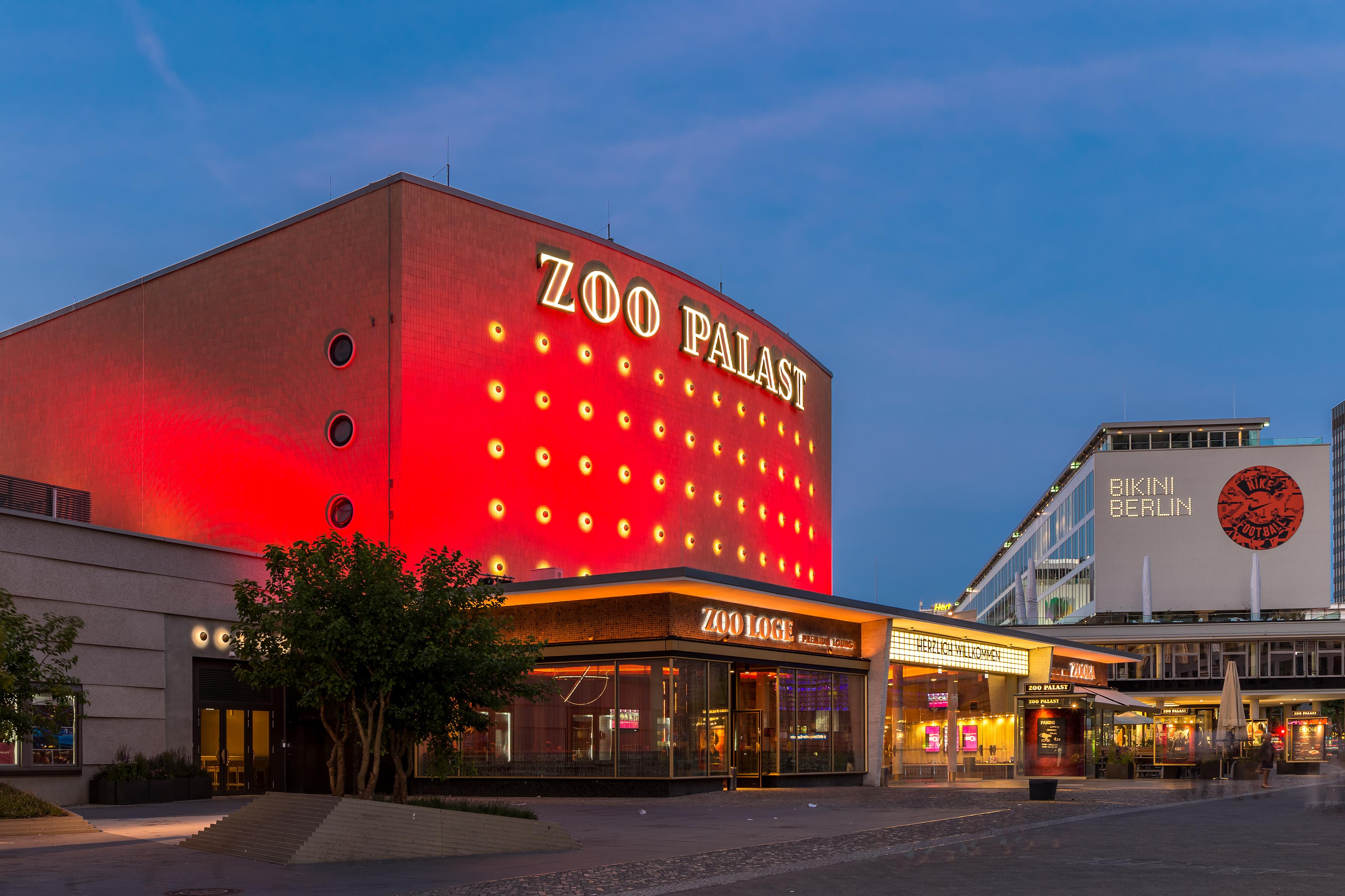 Zoo Palast Tagesprogramm