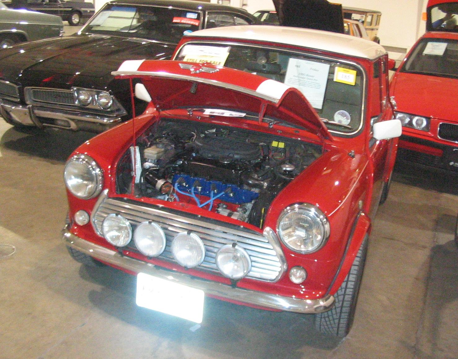 file 39 95 rover mini cooper grand prix toronto spring 39 12 classic car auction jpg wikimedia. Black Bedroom Furniture Sets. Home Design Ideas