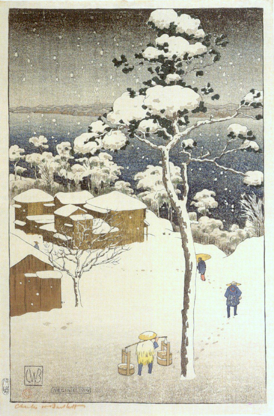 File:'Negishi -Japan-, woodblock print by Charles W