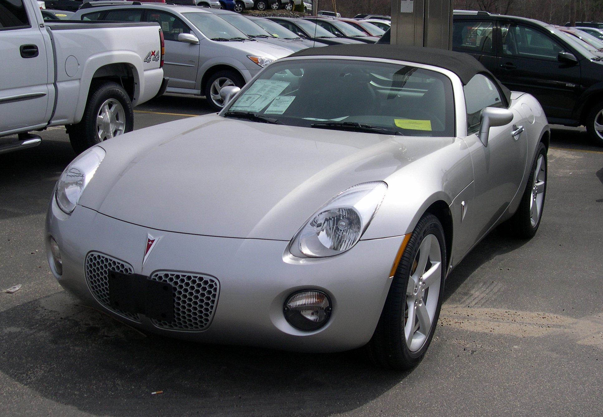 Pontiac Solstice Car Cover
