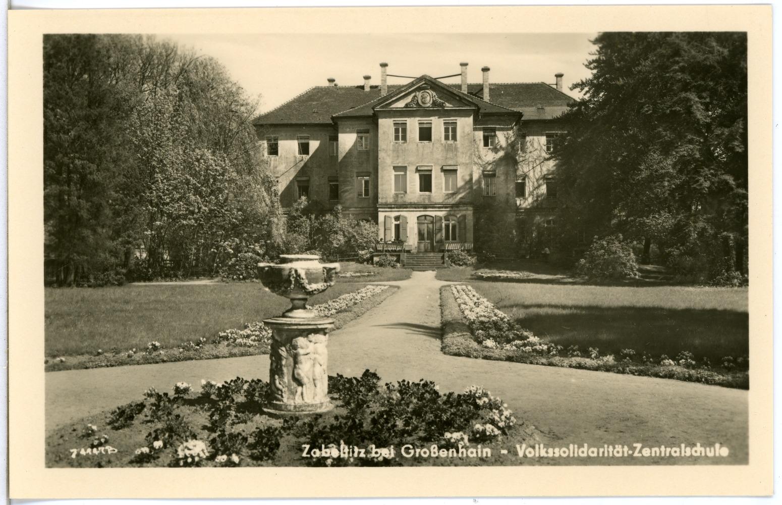 File:28827-Zabeltitz-1955-Volkssolidarität - Zentralschule-Brück & Sohn  Kunstverlag