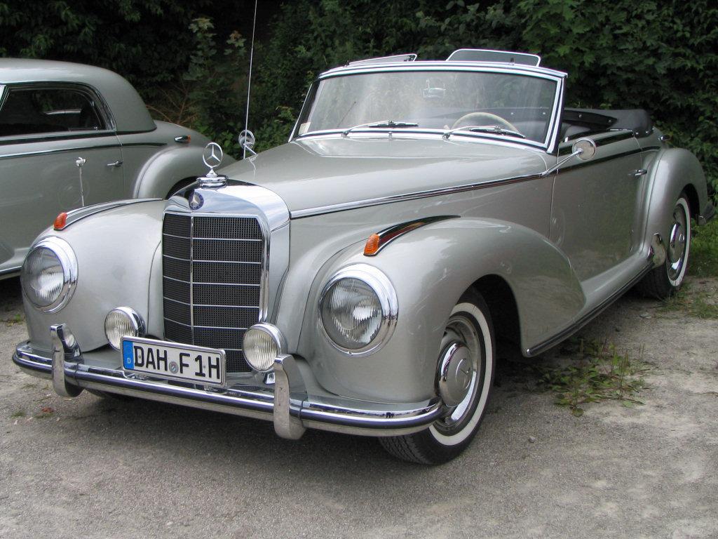 Mercedes benz w 188 wikipedia for Mercedes benz 300s