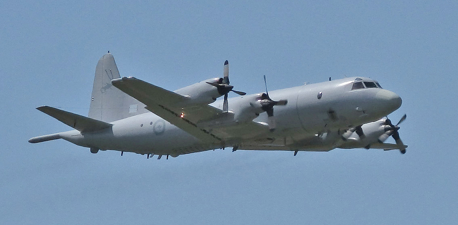 RAAF P-3 Orion Aircraft, photo by 'Timothy' CC BY 2.0, via Wikimedia Commons