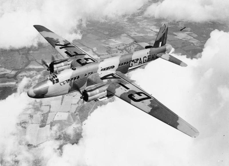1945 Air Force Plane