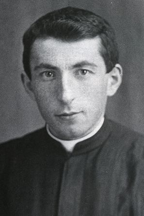 Il giovane seminarista nel 1936