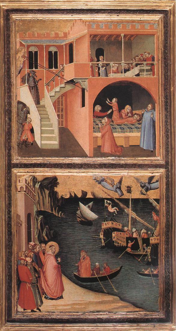 Ambrogio Lorenzetti: Storie di San Nicola (ca 1332), Firenze