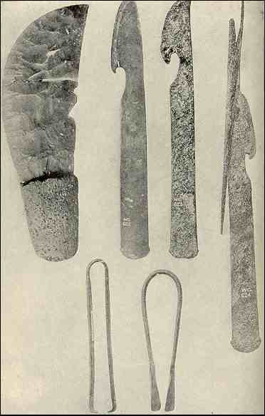 ancient Egyptian medical tools, used for perhaps mummification and basic surgeries - Ancient Egyptian Medicine