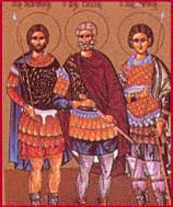 Andronicus, Probus, and Tarachus Christian saints