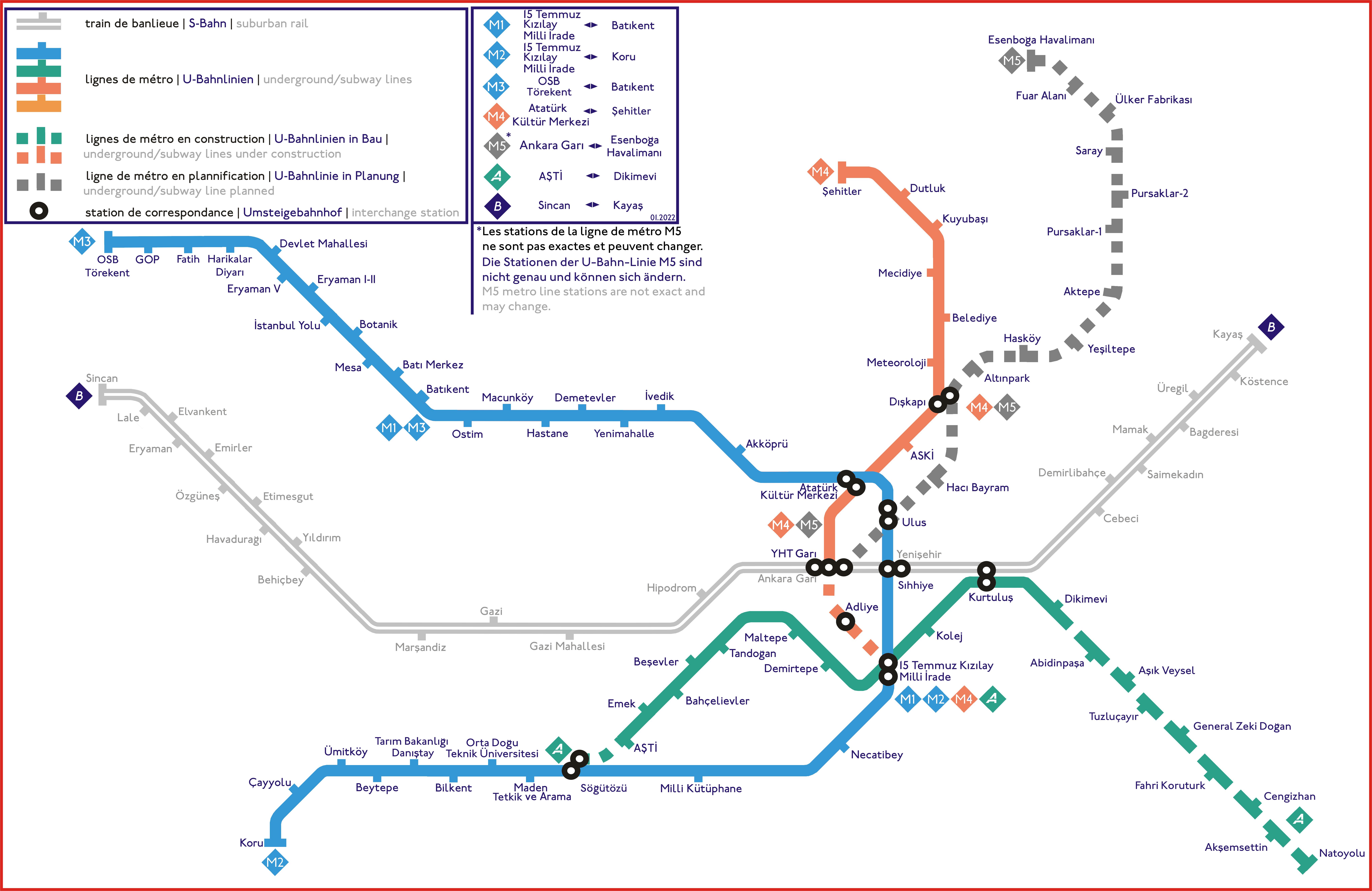 Ankara Metro Анкара метро