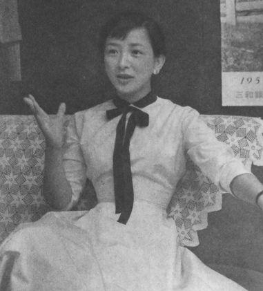 Arima Ineko in 1955