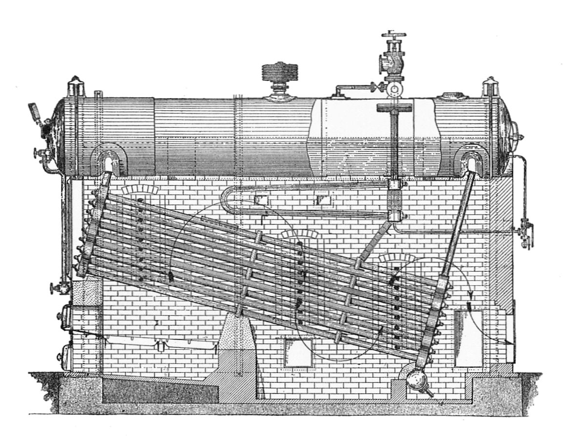 Image Result For Water Tube Boiler Babcock And Wilcox