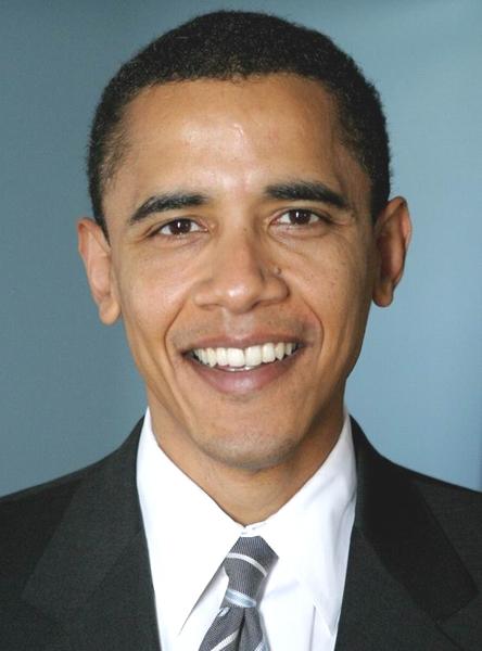 Barack Obama Größe