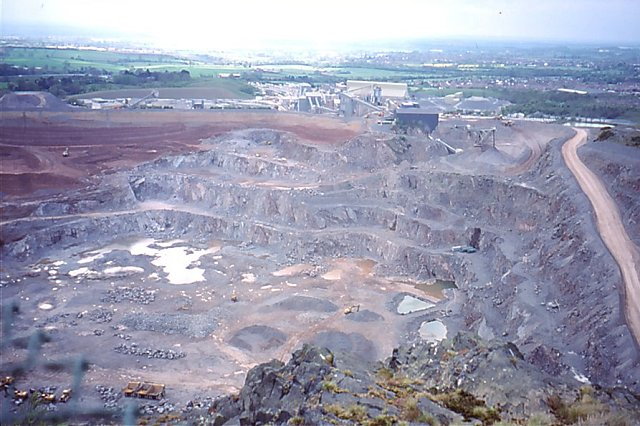 Bardon Hill Quarry - geograph.org.uk - 682083