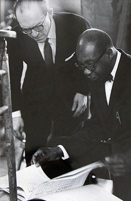 Benjamin Steinberg and Prof. George Walker.jpg