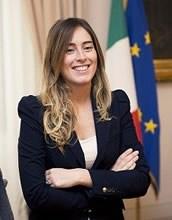 Maria Elena Boschi nel 2015