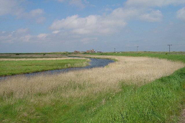 Brancaster marsh - geograph.org.uk - 11755