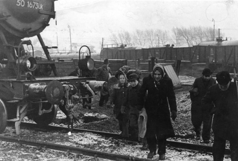 Kohlenklau nach dem Krieg