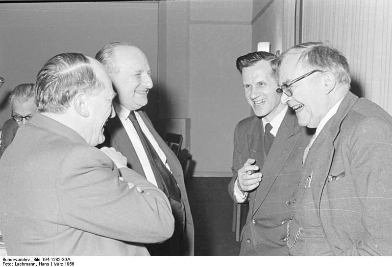 Hans Joachim Iwand, Bundesarchiv Bild 194-1282-30A, Wuppertal, Evangelische Gesellschaft, Jahrestagung